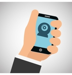 smartphone design editable vector image