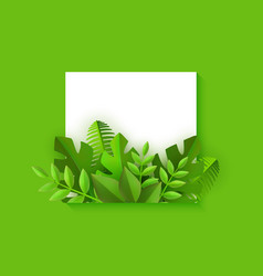 square shape with fresh vector image