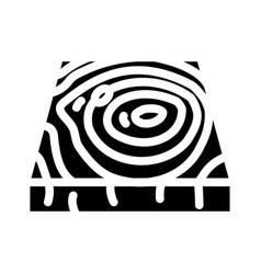 Wooden floor glyph icon vector