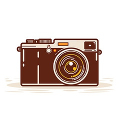 Classic analog camera vector