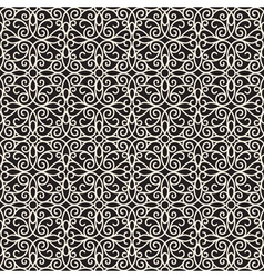 Swirly lace pattern vector image vector image