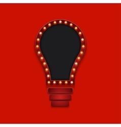 Modern concept retro billboard and idea or vector