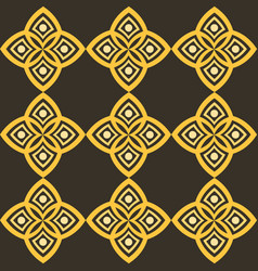 Abstract pattern with geometric stylistics and vector