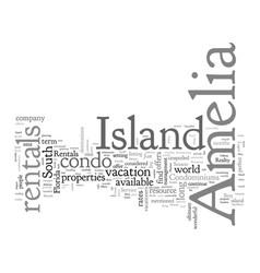 Amelia island condo rentals vector