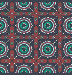 Bohemian fashionable seamless ornament in ethnic vector