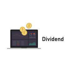 Dividends money paid regularly a company to its vector