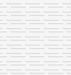 Geometrical pattern with white horizontal lines on vector image