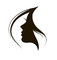 Icon woman vector