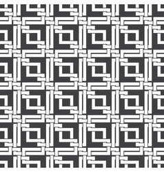 Seamless pattern of intersecting corners vector