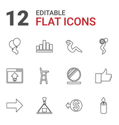 up icons vector image