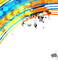 abstract colorful background design layout vector image vector image