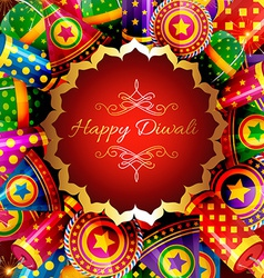 Beautiful background of diwali vector