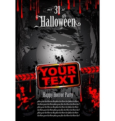 Blood HAlloween vector image vector image