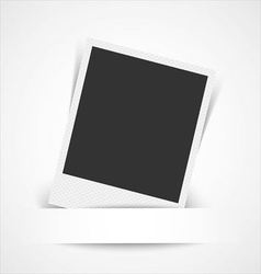 Blank photo frame vector image vector image