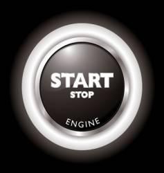 engine start vector image vector image