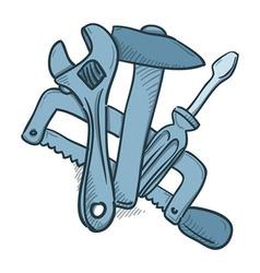 Mechanic Tools vector image vector image