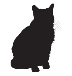 Cat Silhouette 1 vector
