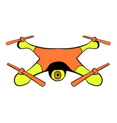 Drone icon icon cartoon vector