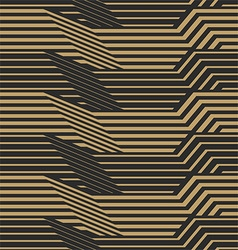Geometric pattern by stripes vector