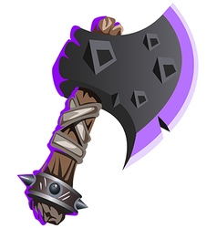 iron axe vector image