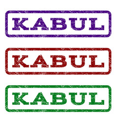 Kabul watermark stamp vector