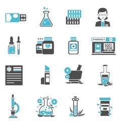 Pharmacy Icons Set vector