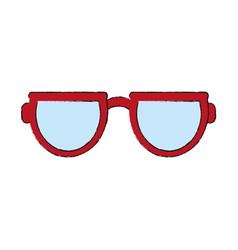sunglasses eyewear icon image vector image