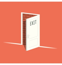 There is no exit vector