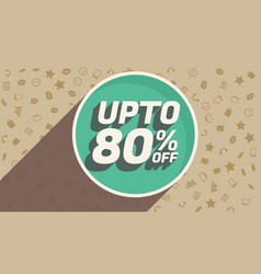 discount voucher design for marketing and vector image vector image