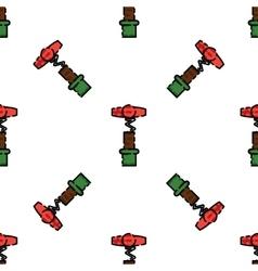 Wine flat pattern vector image