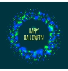Abstract frame for Halloween vector