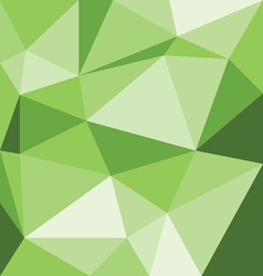 Abstract green 3d interior with polygonal pattern vector