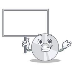 bring board cd character cartoon style vector image