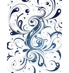 Detailed Swirl Background vector