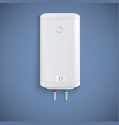 Electric water heater vector image