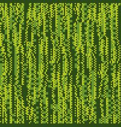 glitch matrix flat seamless pattern vector image