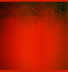 grunge red scratching artistic background vector image