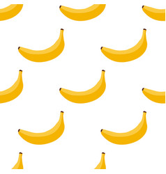 seamless background of exotic fruit bananas vector image