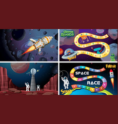 Set space games vector