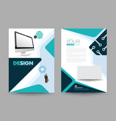 template for business vector image