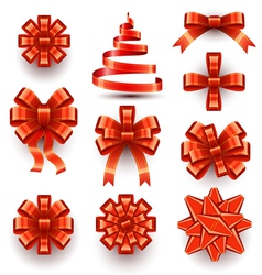 Bows - Ribbons vector image