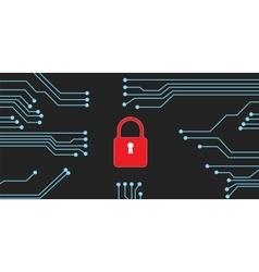 website security vector image