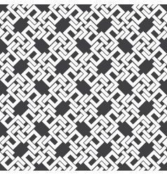 Seamless pattern of intersecting letters h vector