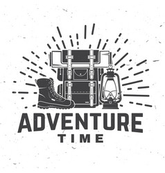 Adventure time concept for vector