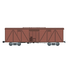 Covered waggon vector