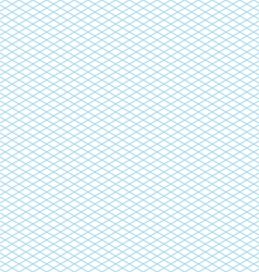 Empty Seamless Isometric Grid Pattern vector image