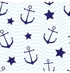 Nautical seamless vector