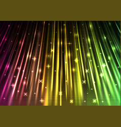 Sparkling light speed abstract background vector