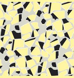 torn paper scraps flat seamless pattern vector image