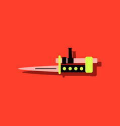 Flat icon design collection beyond army knife on vector